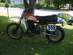 1978 Husqvarna 250CR , raced it for a few season, so I changed the Girling shocks to Ohlins.. nice bike..sorry I sold it..