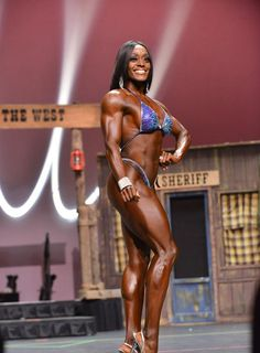 Brittany Campbell 2nd Felicia Romero Pro 2014 Fitness Class