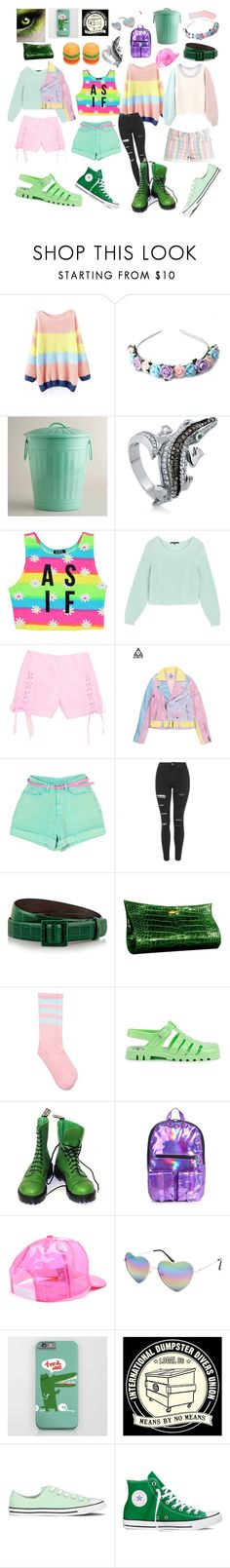 """Undertale: Bratty"" by cartoonvillian ❤ liked on Polyvore featuring Zara Taylor, Cost Plus World Market, BERRICLE, Dimepiece, TIBI, Topshop, Oscar de la Renta, Lautrec, JuJu and Vegetarian Shoes"