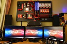 Ultimate Computer Wall Rig 2 620x414 The Ultimate Computer Wall Rig.   Vía: +Ivan de la Jara