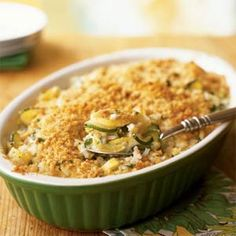 Basmati, squash, feta and other stuff. Make it every summer. Your pin reminded me of it @Kara Ryan