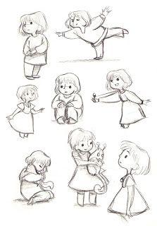 cartoon art Acorns - A short film by Gemma Roberts: Concept Art Character Design Animation, Character Drawing, Character Illustration, Illustration Art, Character Sketches, Cartoon Art Styles, Cartoon Drawings, Cute Drawings, Cartoon Faces