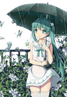 「雨☂」/「小D」のイラスト [pixiv]