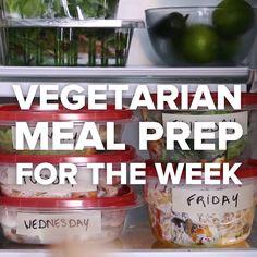 Vegetarian Meal Prep For The Week / #vegetarian #pizza #pancakes #mealprep #soup #pasta #veggies