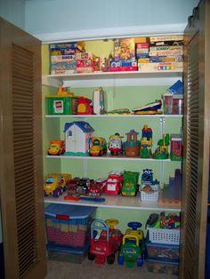 Wonderful Adorable Playroom Closet Inspirational