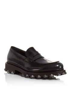 SALVATORE FERRAGAMO Darsen Leather Loafers. #salvatoreferragamo #shoes #flats