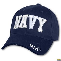 us navy ball cap hat blue 3 d embroidery rothco 9393 93b93f7b9352