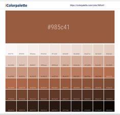 Virkelig godt til at se farver, toner og nuaner! Pantone Cmyk, Pantone Colour Palettes, Pantone Color, Taupe Color Palettes, Hex Color Palette, Brown Pantone, Skin Color Palette, Hex Color Codes, Colors For Skin Tone