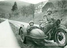 Resultado de imagem para motos antiguas con sidecar