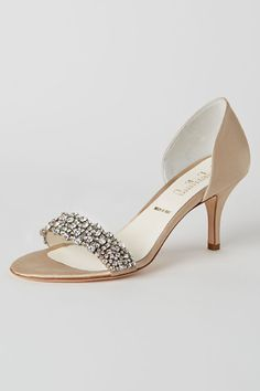 Crystal Waltz d'Orsays in Shoes & Accessories Shoes at BHLDN
