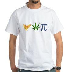 Chicken Pot Pi Pie Shirt on CafePress.com