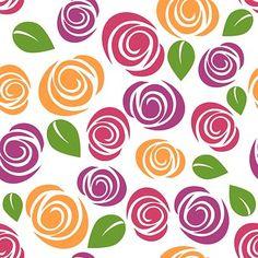 Floral, Wallpaper, Flowers, Roses