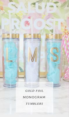 Cute Coffee Mugs Funny Coffee Cups, Cute Coffee Mugs, Voss Bottle, Water Bottle, Tumblr Cup, But First Coffee, Coffee Humor, Monogram Initials, Gold Foil