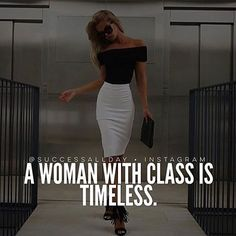 """""""Class is an aura of confidence that is being sure without being cocky. Class has nothing to do with money. Class never runs scared. It is self-discipline and self-knowledge. It's the sure-footedness that comes with having proved you can meet life."""" - Ann Landers. Pic via @successallday"""