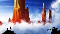 Orange Peaks by kvacm on DeviantArt Deviantart, Orange, Wallpaper, Illustration, Artwork, Painting, Instagram, June, Shades