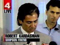 Robert Kardashian reads OJ  letter (Actual footage) - YouTube