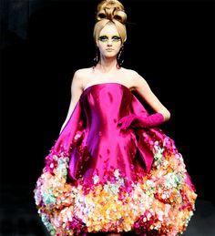Vlada Roslyakova, Christian Dior S/S 2008, Couture