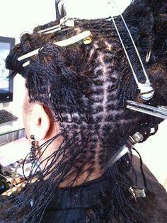 Almocado London - Sisterlocks and Holistic Hair Care: Sisterlocks Installation Photos
