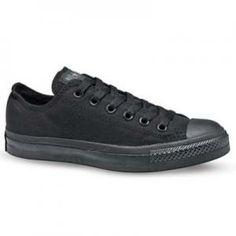 Chuck Low Black Monochrome   Nice Shoes   Canada's Vegan Shoe Store   Vancouver BC
