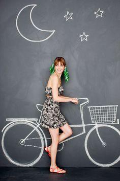 Chalkboard Life on Behance - фотоэффекты - Chalk Art Graffiti Wall Art, Mural Wall Art, Street Art Graffiti, Cafe Interior Design, Cafe Design, Chalk Photos, Foto 3d, Instagram Wall, Interactive Walls