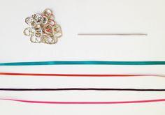 PLAN B a n n a · e v e r s DIY Can tab belt materials
