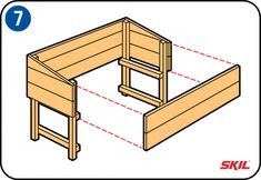 You don't need to buy a wooden cold frame – it's easy to build your own. You'll find simple, step-by-step instructions here for making a cold frame. Scrap Wood Projects, Diy Pallet Projects, Diy Craft Projects, Projects To Try, Outdoor Planter Boxes, Wood Planters, Cold Frame, Diy Greenhouse, Pallets Garden