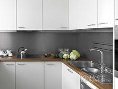 Фартук для кухни - 75 фото и сравнение материалов