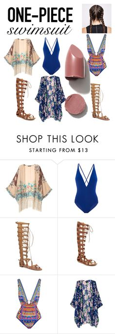 """""""beach"""" by colonkairee on Polyvore featuring Proenza Schouler, Vince Camuto, MIA, Camilla and onepieceswimsuit"""