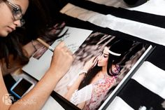 Miami Quince Party | PS Photography A Book of Photography With blank Pages to use as a sign in book