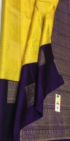 South Silk Sarees, Blue Silk Saree, Mysore Silk Saree, Silk Saree Kanchipuram, Indian Bridal Sarees, Wedding Silk Saree, Indian Designer Sarees, Indian Silk Sarees, Saree Tassels Designs