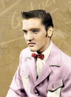 This photo appeared on the sleeve of Thats Alright Mama released by SUN Records