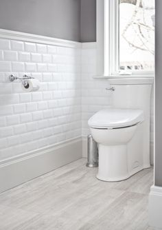 Traditional Bathroom Renovation located in Burlington, Ontario Bathroom Inspiration, Bathroom Ideas, Bathroom Designs, Interior Design Gallery, Under Stairs, Traditional Bathroom, Bathroom Renovations, Kitchen And Bath, Toilet
