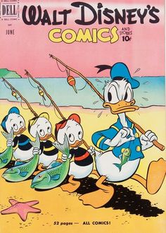 Loved all the Disney comic books!  Donald Duck, Mickey Mouse, Chip and Dale, etc.                                                                                                                                                                                 More