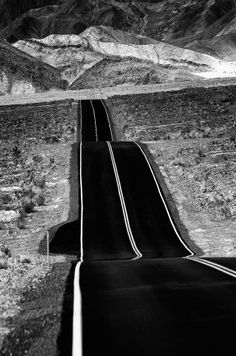 """500px / Photo """"Desert road"""" by Peter Cheung"""