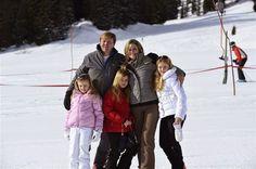 The Dutch Royal Family in their annual photo-call in Lech, Austria, February 23, 2014