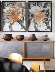 Mid Century Modern had its roots in the Bauhaus movement of the early 20th century. Its philosophy was to design for the masses. They used industrial material in their design and it is now known as Industrial style.