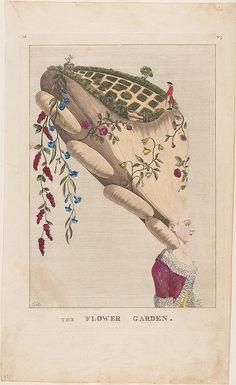 The Flower Garden 1777 (met museum) by peacay