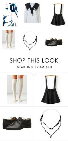 """""""Echo school style"""" by marina-beppler on Polyvore featuring Out From Under, Frye and WithChic"""