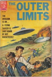 Comic-Book of the Week: The Outer Limits #5. http://reflectionsonfilmandtelevision.blogspot.co.uk/2014/01/comic-book-of-week-outer-limits-dell.html