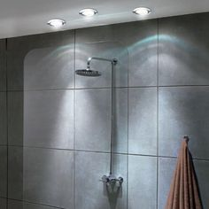 Hib warm white led showerlight white or chrome hib bathroom offering brilliant illumination whilst reducing power consumption the hib led shower lights are affordable and mozeypictures Gallery
