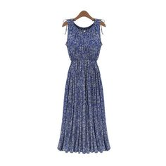 Fashion Women Long Dresses Clothes Lady Floral Boho Maxi Clubwear Beach Casual Dress