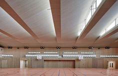 Pajol Sports Centre   Brisac Gonzalez Architects; Photo: Géraldine Andrieu/Hélène Robert   Archinect