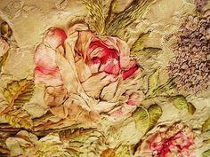 Detail of a ribbon rose !