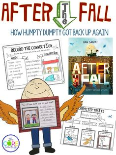 After the Fall: How Humpty Dumpty Got Back Up Again. Possibly my favorite interactive read-aloud-ever.  Brought me to tears.