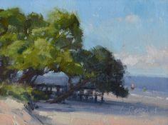 Beach Demo - Georgia Workshop, painting by artist Laurel Daniel