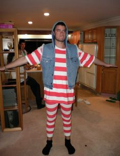 Wheres Wally? I bought this fun outfit by LOWER a couple of years ago to celebrate new years eve.