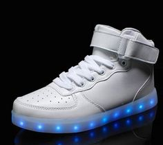 quality 11 colors men women LED shoes 2015 autumn winter growing shoes for adults silver/gold fashion casual shining shoesF098