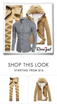 """""""Rosegal 48"""" by almira-mustafic ❤ liked on Polyvore featuring men's fashion and menswear"""