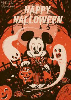 Little Bunny Sunshine Halloween Eve, Halloween Artwork, Disney Halloween, Vintage Halloween, Happy Halloween, Halloween Wallpaper Iphone, Halloween Backgrounds, Disney Wallpaper, Iphone Wallpaper