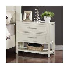 Latitude Run Greater Taree 2 - Drawer Solid Wood Nightstand Black Nightstand, 2 Drawer Nightstand, Dressers, Bedside, Home Decor Bedroom, Bedroom Furniture, Home Furniture, Master Bedroom, Decorating Rooms